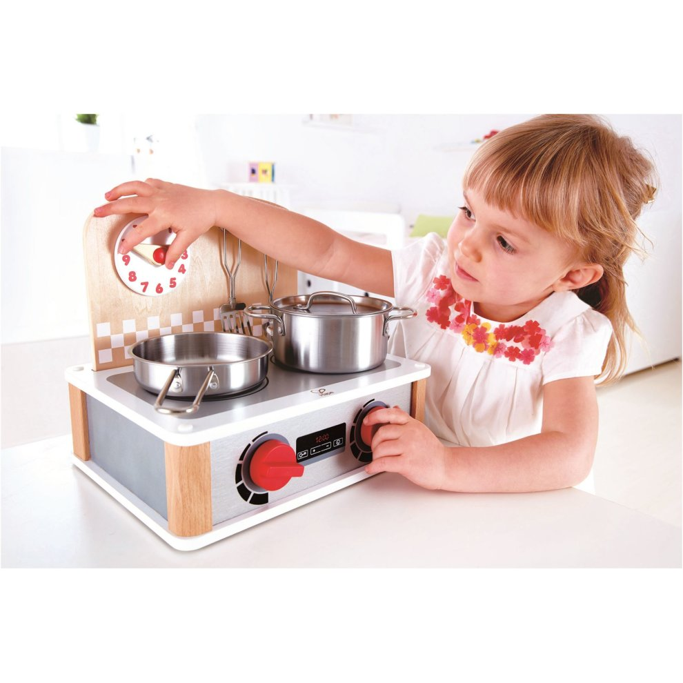 Hape 2 In 1 Kitchen Grill Set