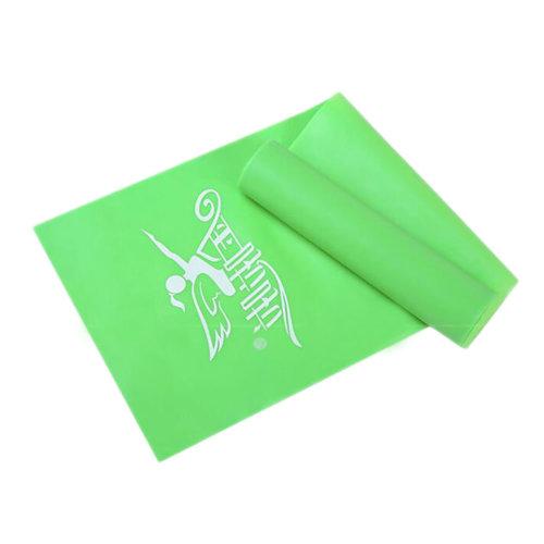 Yoga Belt Thicken Elestic Belt Strength Training Brace Stretch Belt Resistance Bands 200 CM-Green