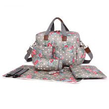 Miss Lulu Flower Baby Diaper Nappy Changing Bag Set