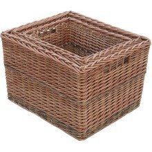 Set of 3 Somerset Rectangular Log Baskets