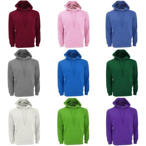 SG Mens Plain Hooded Sweatshirt Top / Hoodie