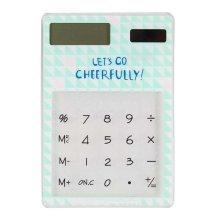Eco-friendly Solar Calculators Fashion Office Supplies Mini Calculators, C2