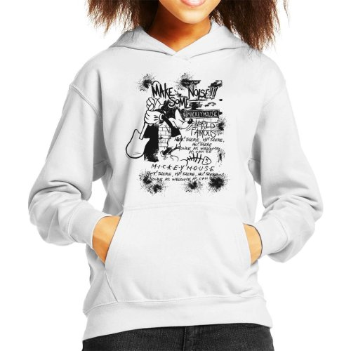 Disney Mickey Mouse Band Make Some Noise Kid's Hooded Sweatshirt