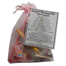 Bride's Wedding Survival Kit - A great gift for the Bride to Be