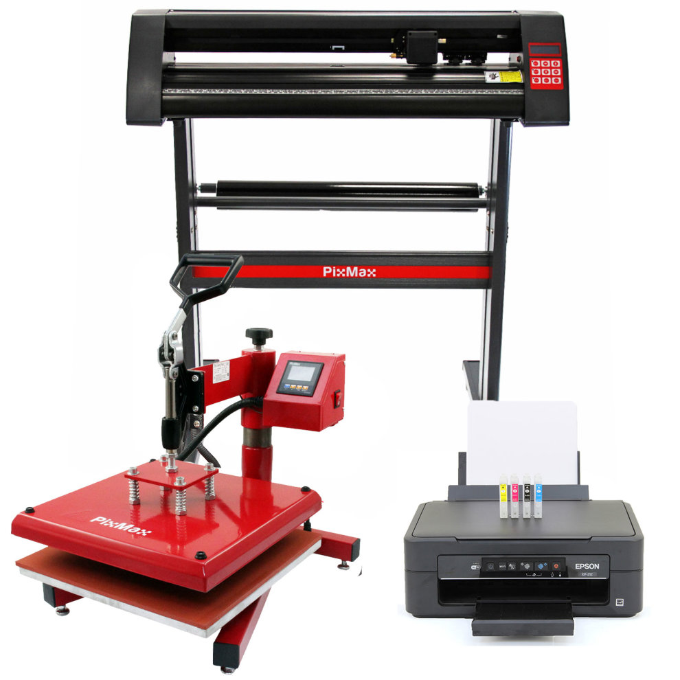 Pixmax 38cm Swing Heat Press Vinyl Cutter Printer On Onbuy