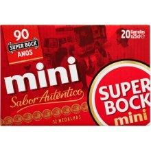 20 x Beer Super Bock Mini 25cl