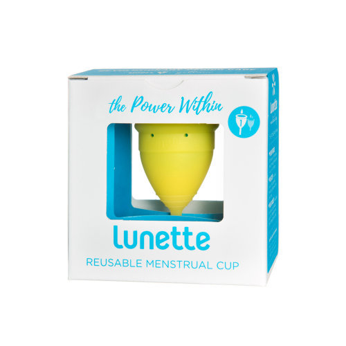 Lunette  Menstrual Cup Yellow Model 1 Single