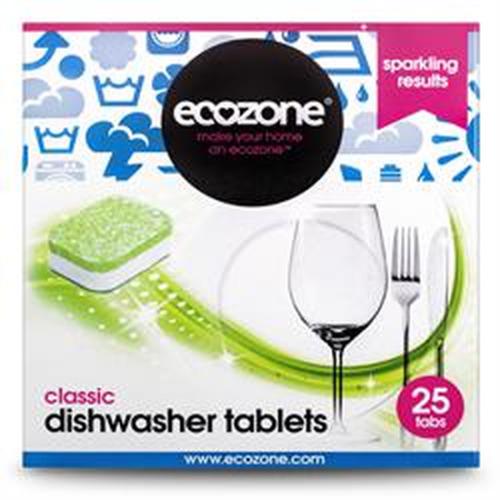 Ecozone Classic Dishwasher Tablets 25 Tablets