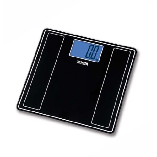 Tanita Glass Digital Bathroom Scale - Black (HD-382)