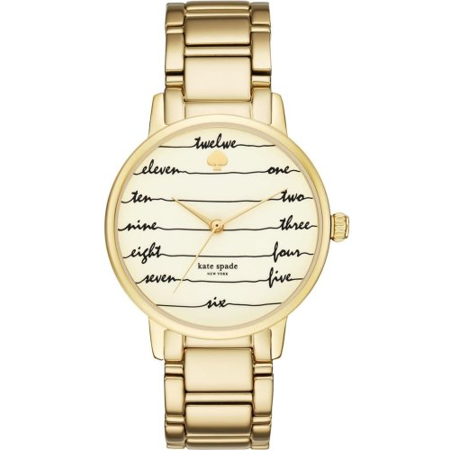 Kate Spade New York Gramercy Gold-Tone Ladies Watch KSW1060