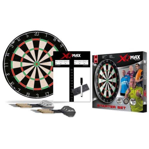 XQmax Darts Dartboard StarterSet Bristle QD7000040