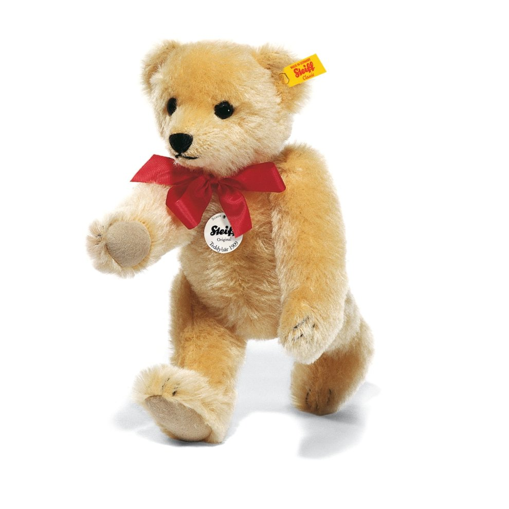 Steiff 35cm Classic 1909 Jointed Teddy Bear with Growler (Blond)