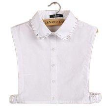 Simple Stylish Detachable Collar Fake Shirt Collar All-purpose Accessory for Women, I