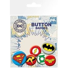 Dc Comics Logos Badge Pack