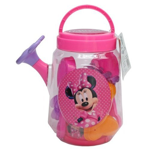 What Kids Want Minnie Mouse Large Clear Watering Can Filled