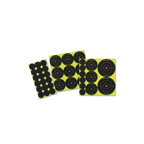 Birchwood Casey Shoot-N-C Round Target (Pack of 12), 1/2/3-Inch