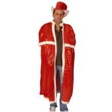 Cloak & Top Hat Sequin Red