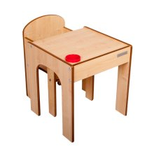 Little Helper FunStation Kids Childrens Table & Chair Set EX DISPLAY