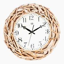 GoedYE wooden nestle wall clock 51cm