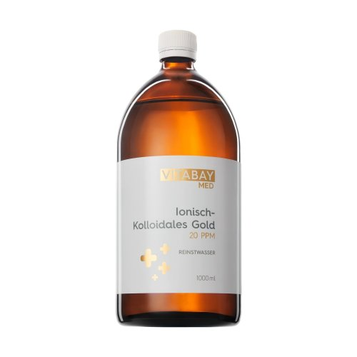 Colloidal Gold 20 PPM – Highly Concentrated (Purity 99.99%) (1000 ml)