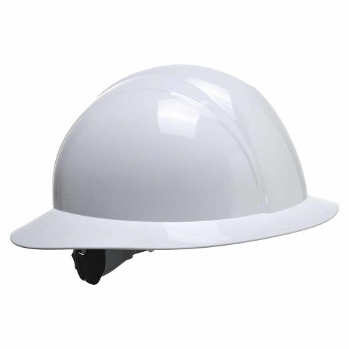 sUw - Site Safety Workwear Full Brim Future Hard Hat Helmet White