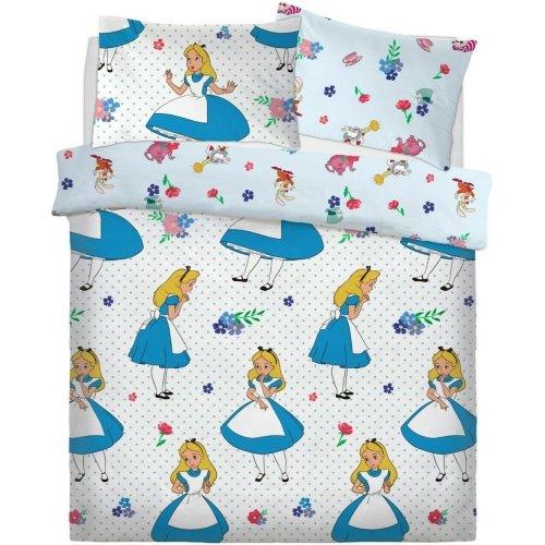 Disney Alice In Wonderland Reversible Double Duvet Cover