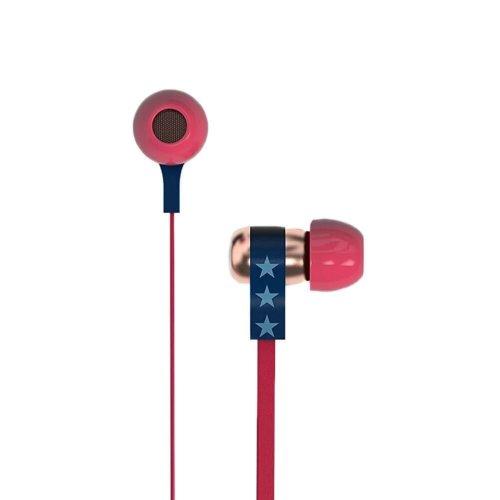 Tribe Wonder Woman Stereo In-Ear Earphones