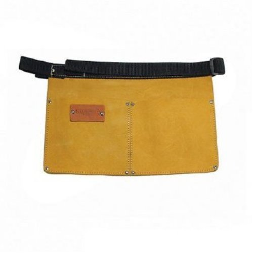 Silverline Nail Pouch Belt 2 Pocket 350 x 240mm - Cb0 Leather Tool -  belt nail pouch silverline x 240mm pocket 350 cb02 leather tool
