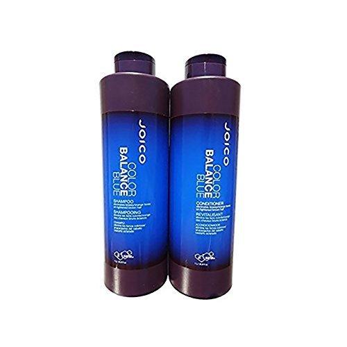 Joico Color Balance Blue Shampoo & Conditioner 33.8 oz Liter Duo
