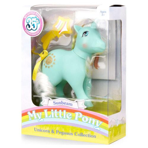 My Little Pony Unicorn and Pegasus Sunbeam