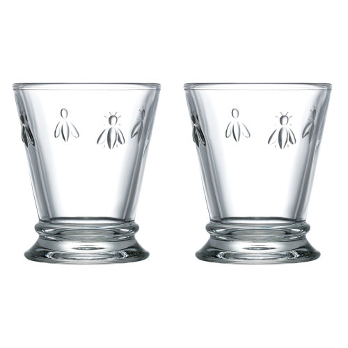 La Rochere Set of 2 Bee Shot Glasses, 6cl