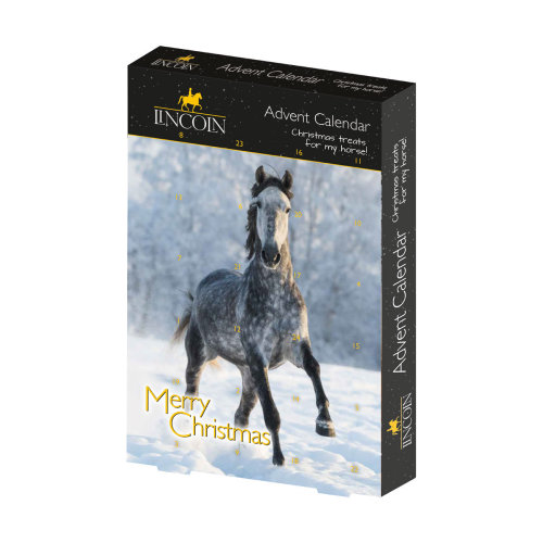 Lincoln Christmas Herb Stix Horse Advent Calendar (Pack Of 6)