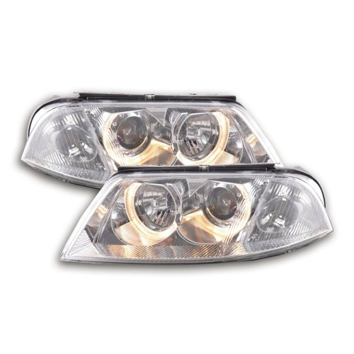 Angel Eye headlight  VW Passat type 3BG Year 00-05 chrome
