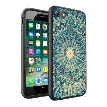i-Tronixs - Blue & gold Mandala Design Printed Case Skin Cover - 049