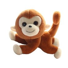 Plush Toy Doll Monkey Funny Creative 10-inch Doll,brown