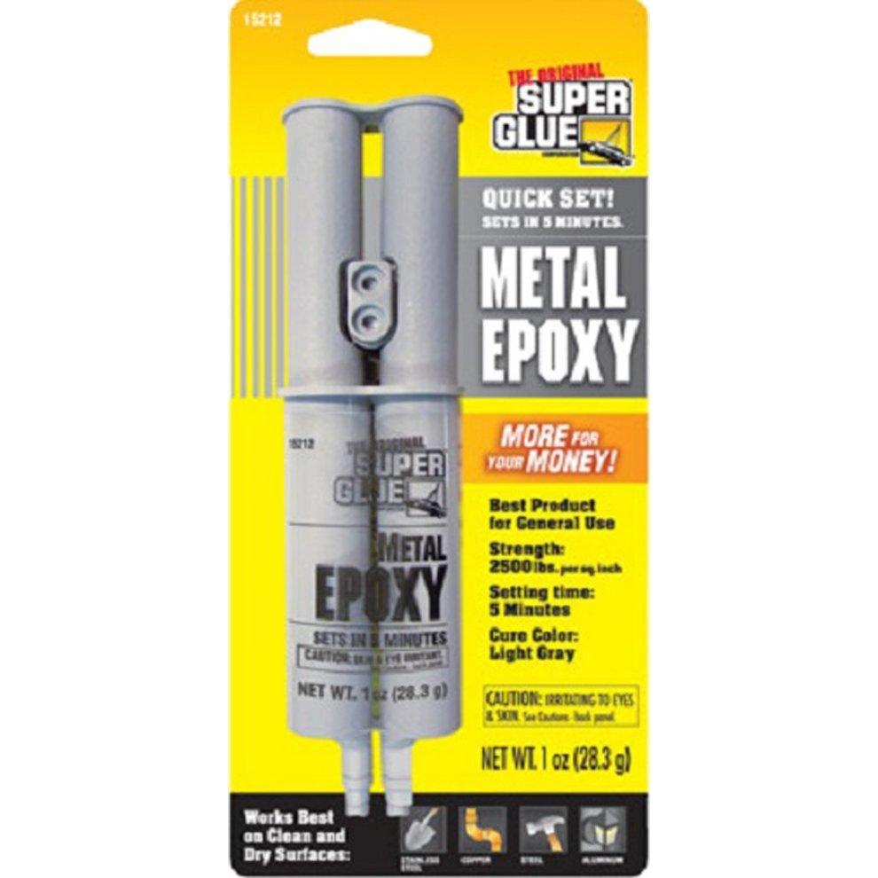 Super Glue For Metal >> Super Glue 15212 Metal Epoxy Adhesive