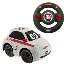 Chicco Turbo Touch Fiat 500 Remote Control Car - White