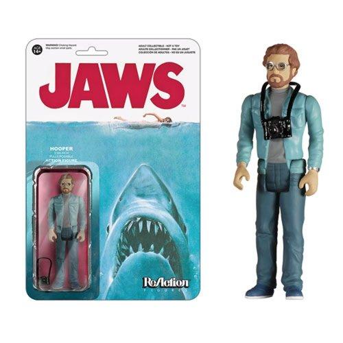 "Funko Reaction Retro Jaws Hooper Action Figure Size 3.75"""