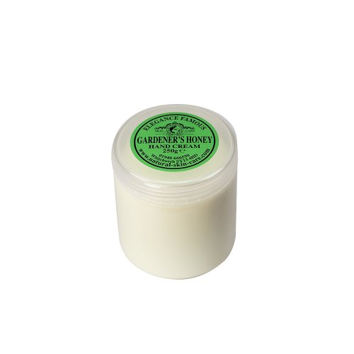 Famous Gardener's Honey Hand Cream 250g Great for dry, chapped hands and split fingers