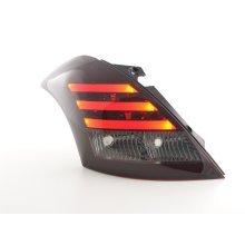 Led Taillights Suzuki Swift Sport Year 2011-2013 red/black
