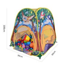 Funny Forest Pattern Play Tents Indoor/Outdoor Play Tent Beach Tent 3 Kids Tent