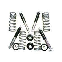 Discovery 2 air to coil conversion kit (Medium Load, 2 inch lift includes spings and All-Terrain Shocks)