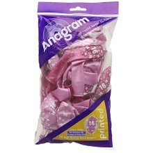 16th Birthday - Fab Fuchsia & Pretty Pink 11-27.5cm - Latex Balloons 998237