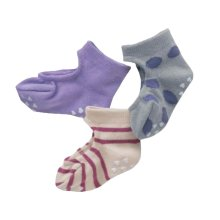 3 Pairs Kids/Baby/Toddler Socks Home/Outdoor Socks [D]