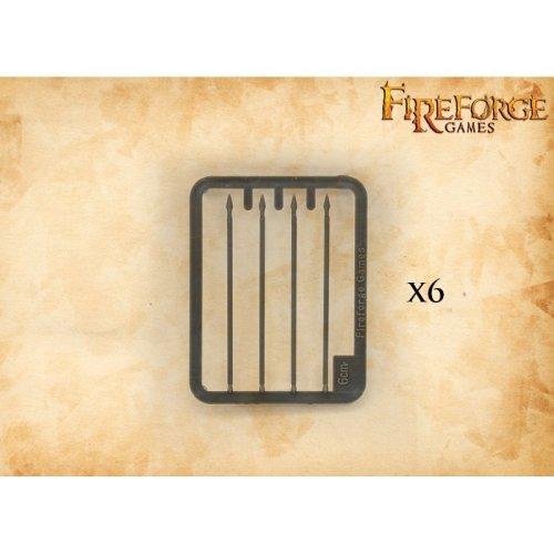Fireforge Games Plastic Lances 6cm Pack of 24