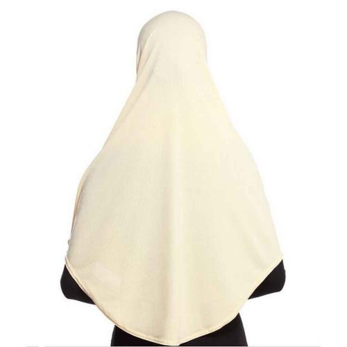 Good Shape, Breathable, Anti-wrinkles Long Women's Hijab [Beige]