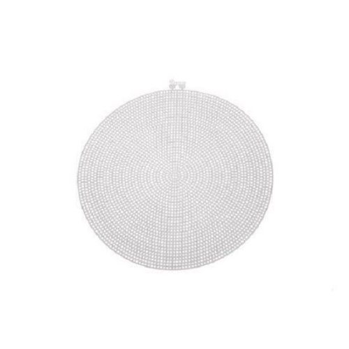 Darice Large Plastic Canvas Circle - 9.5in (24.1cm) - Pack of 6