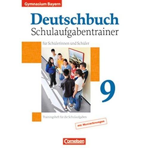 Deutschbuch: Deutschbuch 9 Schulaufgabentrainer mit Losungen