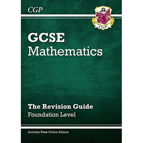 GCSE Maths Revision Guide with online edition - Foundation (A*-G Resits): Foundation Level