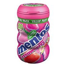 Mentos Bottles Strawberry Mix - 8 pcsz